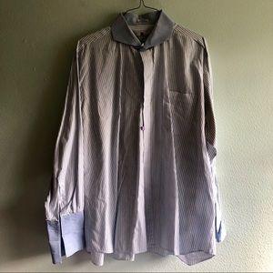 Italo Mondo dress shirt XXL